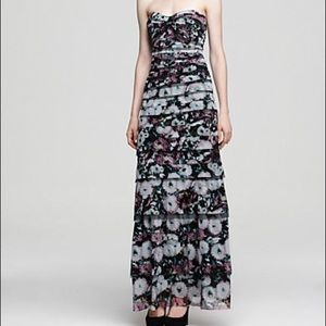 NWT BCBG MaxAzria Erika Floral Tiered Dress